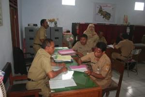 Penilaian Administrasi Lomba Kelurahan Jombor